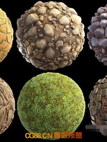 Unreal Engine – Stylized Terrain Pack of 50 Materials